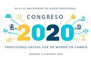 Congreso 20 + 20 Unión Profesional. @ Auditorio de la Mutua Madrileña