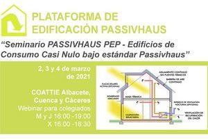 Seminario Passivhaus PEP - Edificios de Consumo Casi Nulo Bajo el Estándar Passivhaus - 2, 3 y 4 de Marzo.